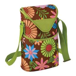 Picnic at Ascot Two Bottle Tote 13in Floral