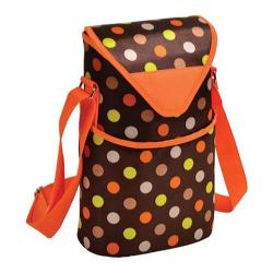Picnic at Ascot Two Bottle Tote 13in Julia Dot