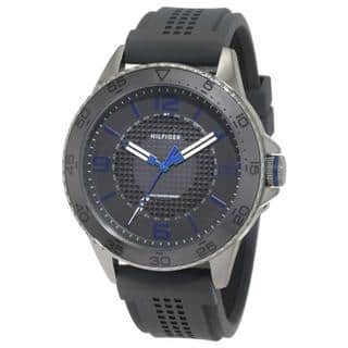 Tommy Hilfiger Men's 'Kiefer' 1790836 Grey Silicone Sports Watch|https://ak1.ostkcdn.com/images/products/8968453/Tommy-Hilfiger-Mens-Kiefer-1790836-Grey-Silicone-Sports-Watch-P16177393.jpg?impolicy=medium