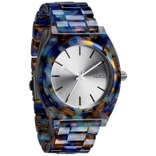 Nixon Women's 'A327-1116 Time Teller' Acetate Watercolor Watch