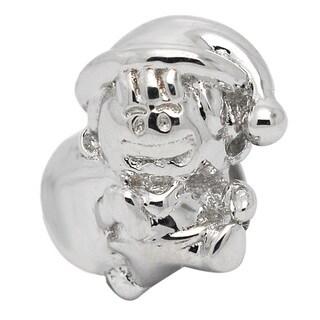 De Buman Sterling Silver Christmas Boy Charm Bead