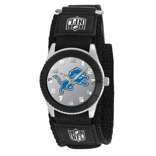 Game Time NFL Detroit Lions Black Rookie Series Watch