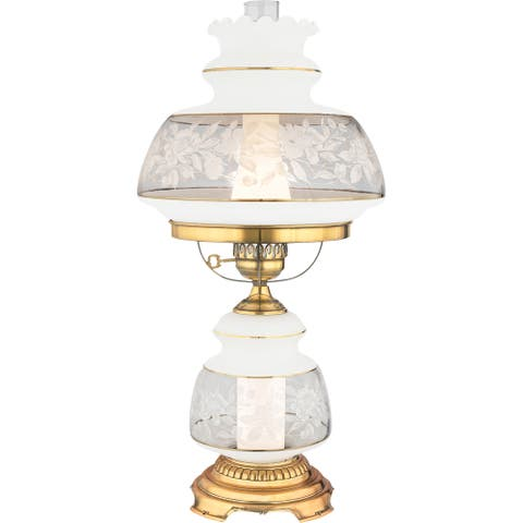 Quoizel Satin Lace Gold Polished Flem Finish 2-light