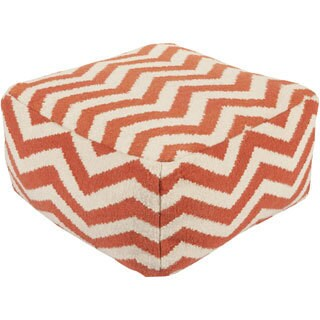 Large Square Chevron 24-inch Pouf (4 options available)