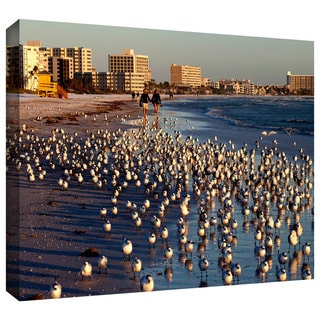 Lindsey Janich '0700a' Gallery-Wrapped Canvas