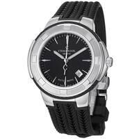 Charriol Men's CE443AB.173.004 'Celtica' Black Dial Black Rubber Strap Watch