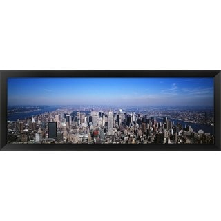 'New York City' Framed Panoramic Photo
