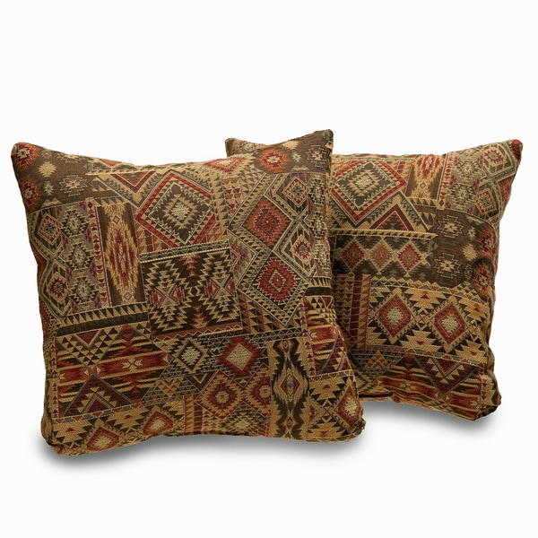 el paso 18 inch decorative throw pillows set of 2 free
