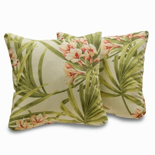 Sea Island 18-inch Decorative Throw Pillows (Set of 2)