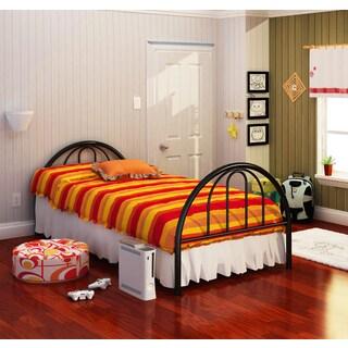 Brooklyn Black Twin Bed
