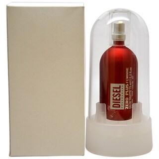 Diesel Zero Plus Women's 2.5-ounce Eau de Toilette Spray