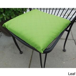 EDIE Sonic Double Diamond Indoor/ Outdoor Chair Pad (Pack of 2)