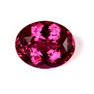 Rare Pink Oval-cut Spinel Gemstone