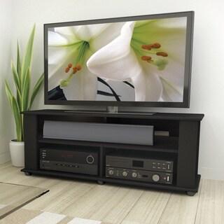 CorLiving Bakersfield Ravenwood Black TV/ Component Stand