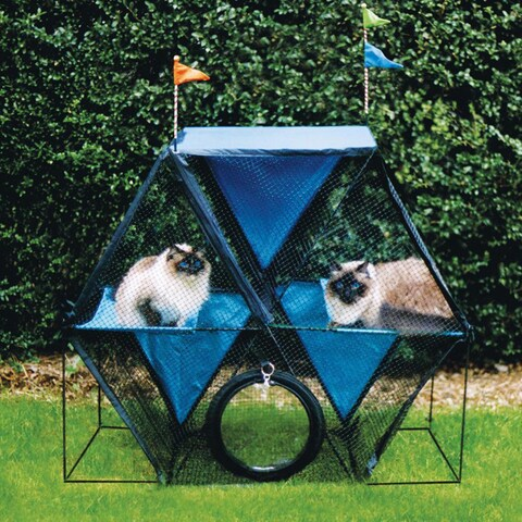 Kittywalk Ferris Wheel Cat Enclosure