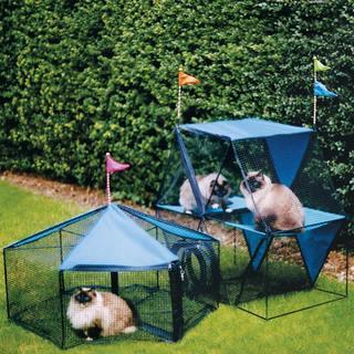 Kittywalk Carnival Outdoor Small Pet Enclosure