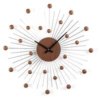 Carson Carrington Sundby Mid-century Star Wall Clock