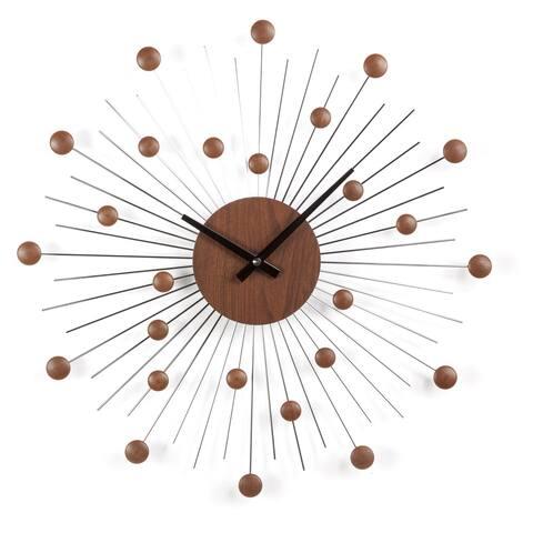 Carson Carrington Sundby Mid-century Star Wall Clock