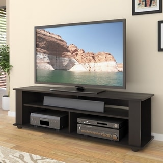 Link to CorLiving Bakersfield Ravenwood Black TV/Component Stand Similar Items in TV Stands & Entertainment Centers