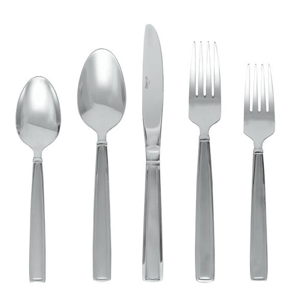 Mikasa Delano Frost 20 Pc Flatware Set. Opens flyout.