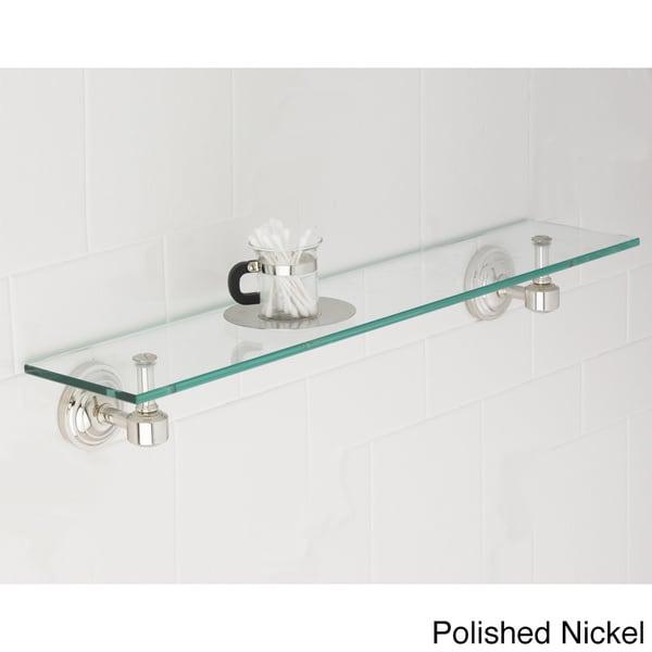 Emily Bathroom Glass Shelf