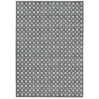 "Calvin Klein Nara Steel Grey Area Rug by Nourison - 7'9"" x 10'10"""