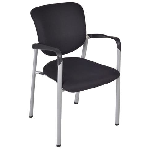 Ultimate Side Chair with Arms - Black