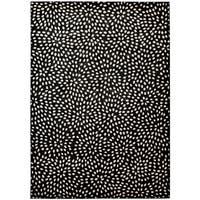 Calvin Klein Nara Ebony Black Area Rug by Nourison - 7'9 x 10'10