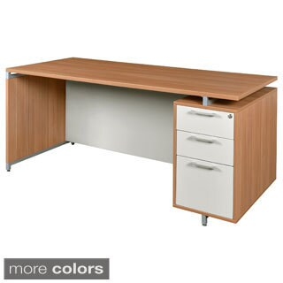 66-inch Single Pedestal Desk