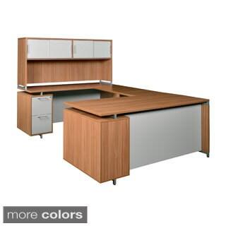 71-inch U-Desk with Hutch