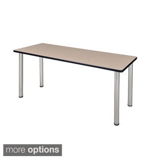72-inch Kee Training Table - Chrome Legs