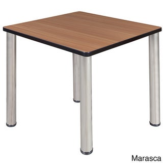 30-inch Kee Square Breakroom Table- Chrome Legs (More options available)