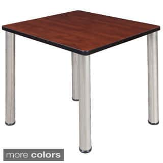 30-inch Kee Square Breakroom Table- Chrome Legs|https://ak1.ostkcdn.com/images/products/8969266/P16178043.jpg?impolicy=medium