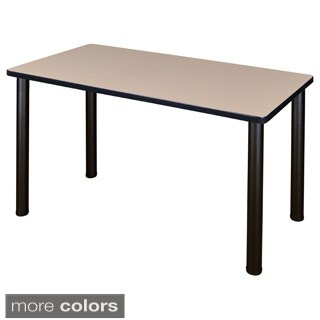 42-inch Kee Training Table -Black Legs