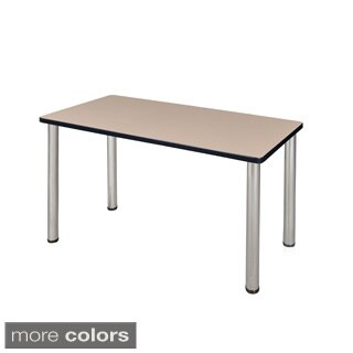 42-inch Kee Training Table - Chrome Legs