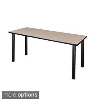 72-inchKee Training Table -Black Legs