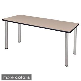 60-inch Kee Training Table - Chrome Legs