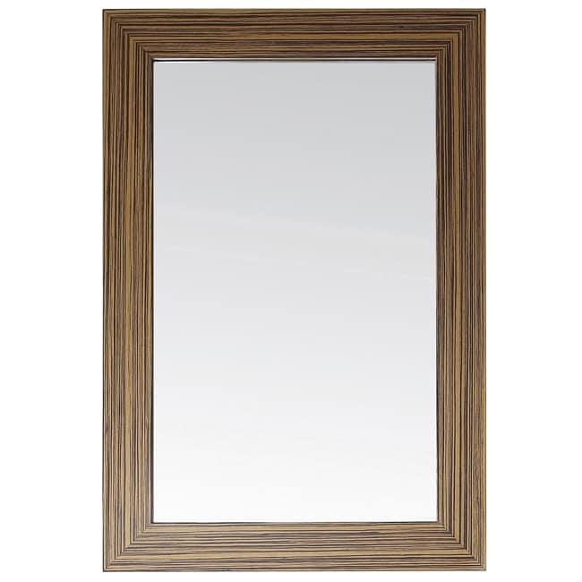 Avanity Knox 24-inch Mirror in Zebra Wood Finish (Avanity...