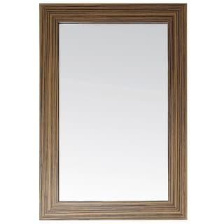 Avanity Knox 24-inch Mirror in Zebra Wood Finish