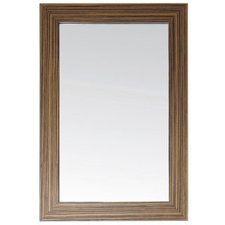 Avanity Knox 24-inch Mirror in Zebra Wood Finish