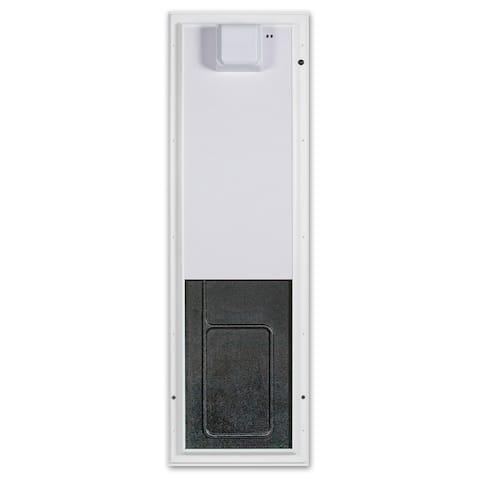 PlexiDor Electronic Pet Door Large Wall Mount