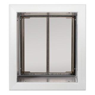 PlexiDor Performance Pet Door Medium Wall Mount (Option: White)