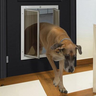 PlexiDor Performance Pet Door XLarge Door Mount