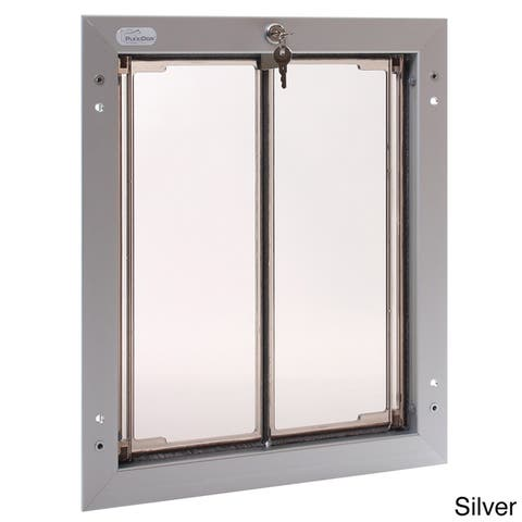 PlexiDor Performance Pet Door Large Door Mount