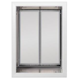 PlexiDor Performance Pet Door XLarge Wall Mount (Option: White, XLarge)