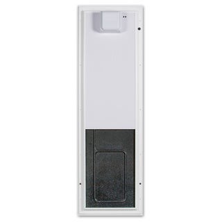 PlexiDor Aluminum Large Door Mount Electronic Pet Door (2 options available)