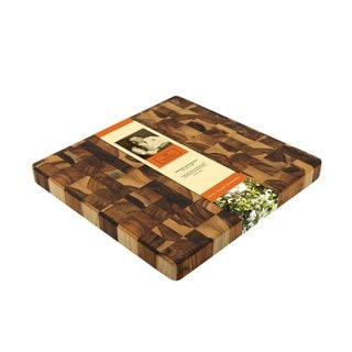 Madeira Mario Batali M-09 End-grain Teak Medium Chop Block