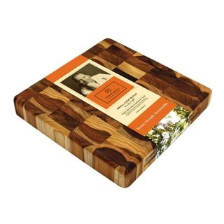 Madeira Mario Batali M-07 End-grain Teak Small Chop Block
