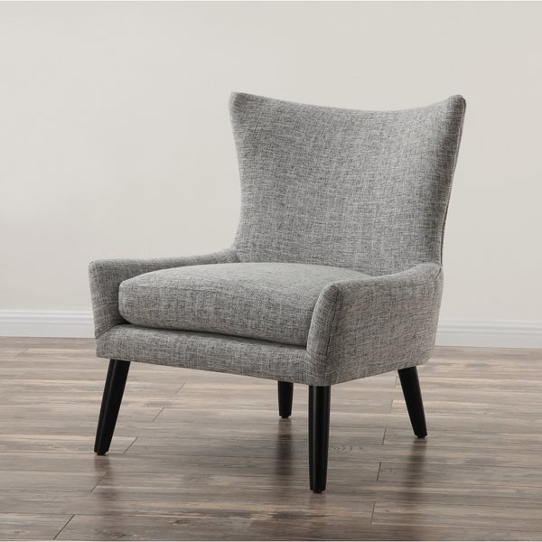 Free Interior Small Accent Chairs For Bedroom For Comfy: Shop Sullivan Grey Linen Upholstered Chair