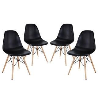 Indoor/ Outdoor Pyramid Dining Chairs (Set of 4)